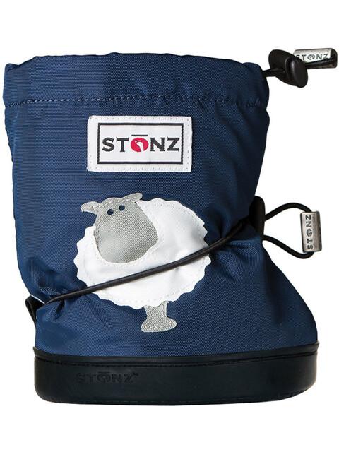 Stonz Sheep Booties PLUSfoam Navy Blue